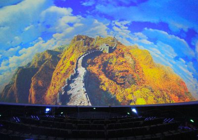 Great Wall of China 3D Dome