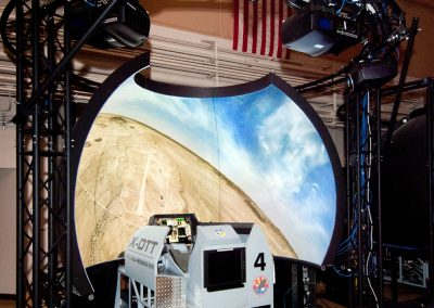 Simulator Dome